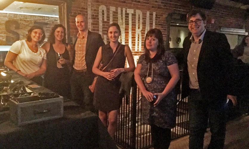 The SEGD Boston Chapter hosted a mixer for Wayfinding attendees and local SEGD members.