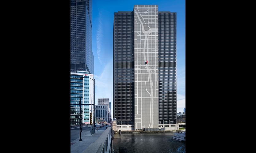 The new 300 South Wacker gives locals an exciting sense of place in Chicago—and has even earned a spot on the architecture boat tour.