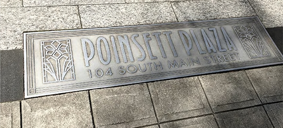 Bill Donohue, Emanate Poinsett Plaza Environmental Graphics