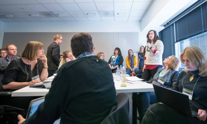 SEGD's first-ever Business of Design Summit was held Feb. 19, 2015, in Denver.