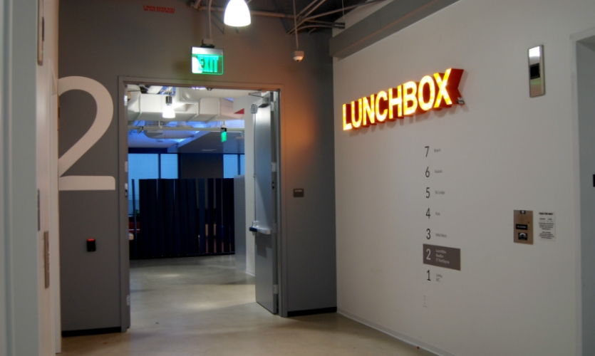 Lunchbox is the employee cafeteria.
