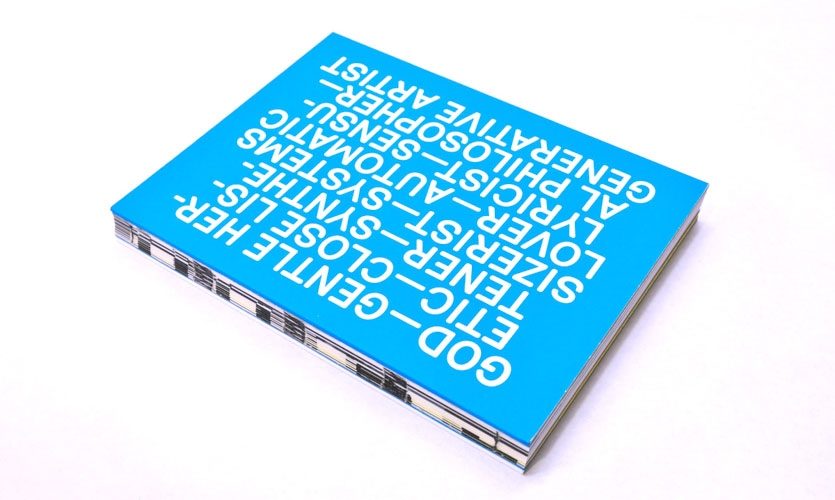 The book itselff you were to 'play' the spine of this book, you'd be hearing a track from Music for Airports. See the full book at http://pearlyn.pl. Image Upload