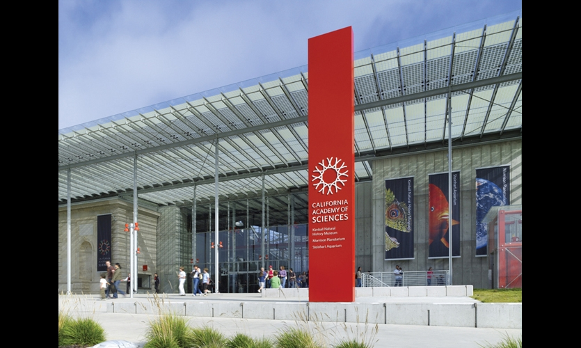 California Academy Of Sciences Environmental Graphics And Branding