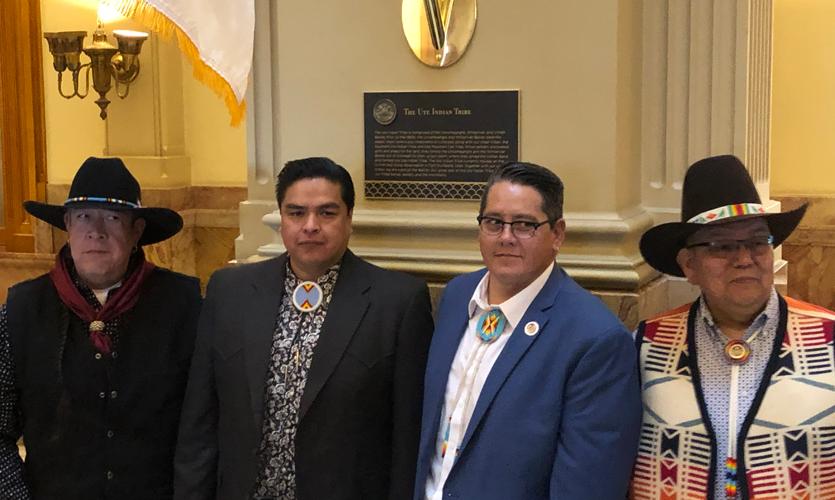 March 2019: Tribal Plaque & Flag Raising Ceremony