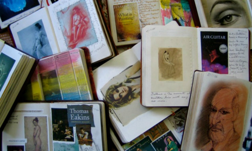 My journals are a chronicle of life, a collection of ideas and obsessive experimentation.