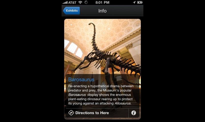 Explorer combines wayfinding and interpretive information.