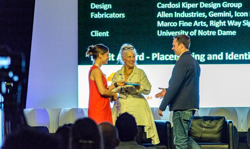 Cardosi Kiper Design Group, Notre Dame Stadium Enhancement, 2019 Merit Award