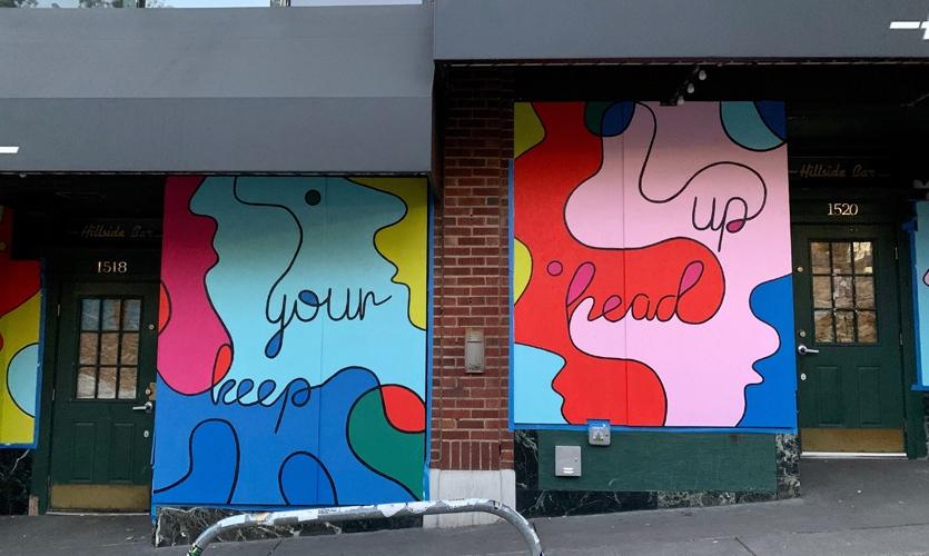 """Chin Up"" by Sara Thompson at Hillside Bar, Seattle"