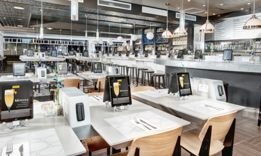 At airports including JFK and LaGuardia, Airport Concierge allows travelers to relax while airport offerings are delivered to them. (Design: Control Group)