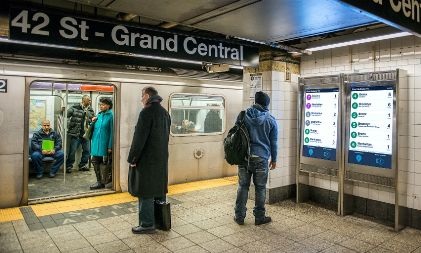 The MTA wanted to create digital touchpoints to provide its riders with better information.