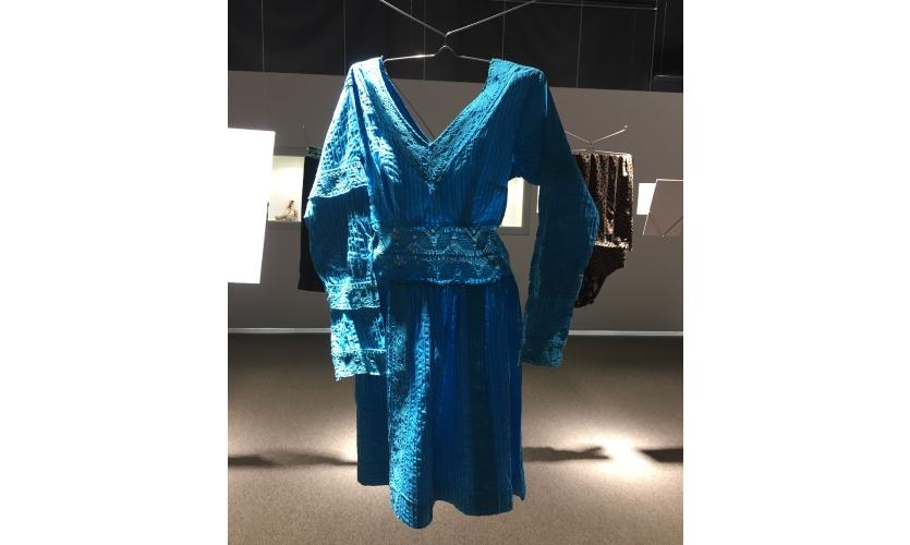 Donated Child's Dress at The War Childhood Museum, photo: Brenda Cowan