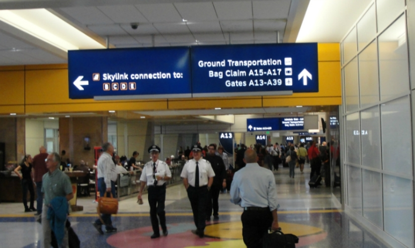 A new $22 million interior sign package includes LED edge-lit wayfinding panels.