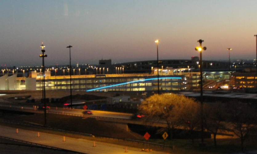 DFW's $2 billion capital improvement program includes renovation of four terminals and a new 7,700-space parking garage.