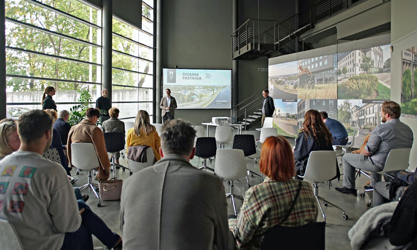 Riga Design Walk participants visited several design firms during this unqiue event.