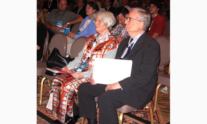 Denise Scott Brown and Robert Venturi in Las Vegas