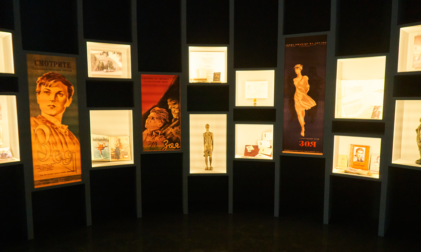 Dozens of musical and literary works, as well as films and pictures were created in honor of Zoya