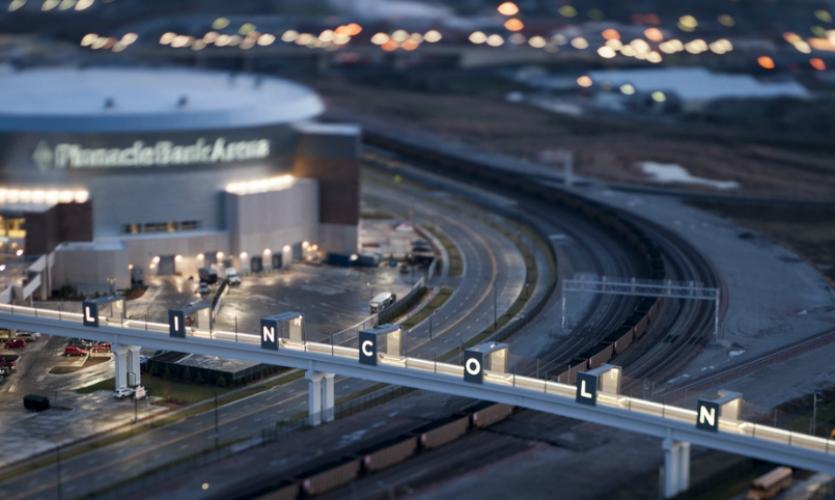 Honor Award: Haymarket Pedestrian Bridge (Dimensional Innovations)