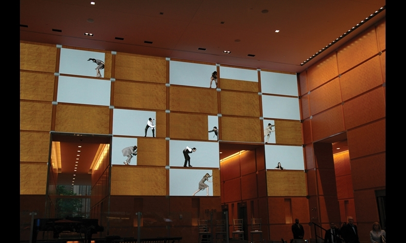 Movie director and HD pioneer David Niles transformed Philadelphia's Comcast Center with an 85- by 25-ft. video wall that used a transportation hub as a gigantic, changing canvas for storytelling and public art (2008).