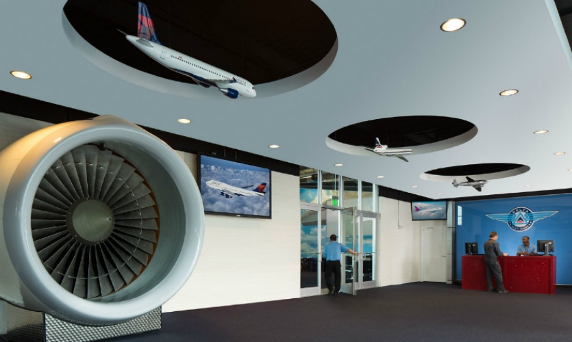Delta Air Lines Flight Museum Exhibit Segd