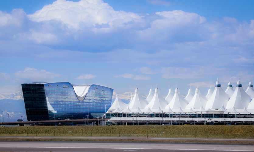 Mijksenaar, the design firm known for its worldwide airport wayfinding expertise, has been contracted to be Denver International Airport's (DEN) wayfinding consultant. DEN is the sixth-busiest airport in the US. (Talk) Photo: Denver International Airport