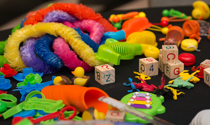 Design Improv, a chance to address a design problem with nothing but popsicle sticks and pipe cleaners, led to Design Improv(e), which addressed a real-life design solution for a local community resource. [2014 Atlanta Conference]