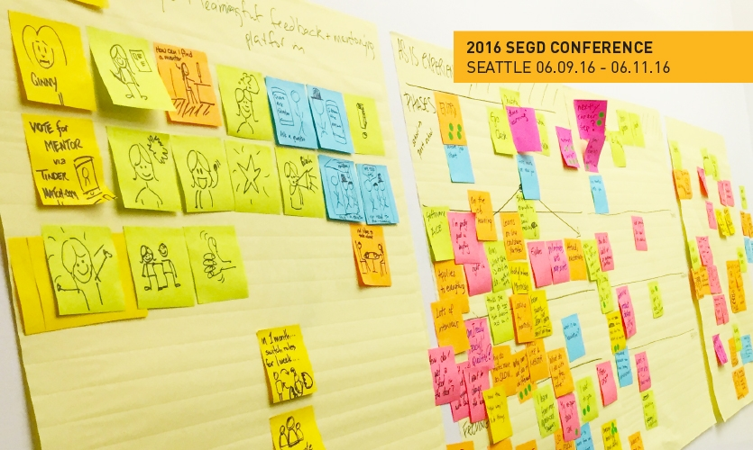 The 2016 SEGD Conference: Experience Seattle will include a Design Thinking workshop.