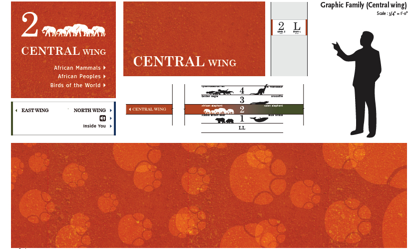 Graphic family- Central Wing (work of Chang hyun Lee)