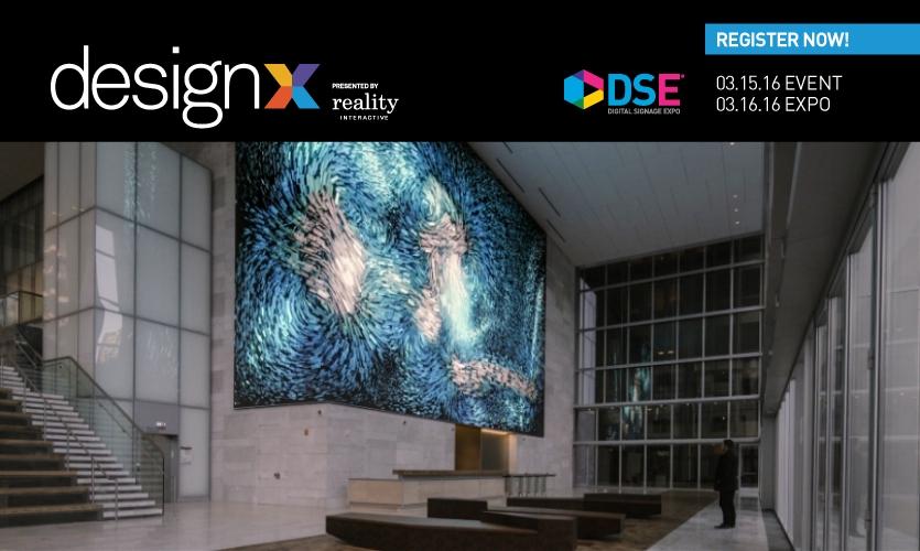 DesignX happens March 15-16 during Digital Signage Expo 2016 in Las Vegas. (Image: 350 Mission Building, San Francisco / Refik Anadol / SOM)