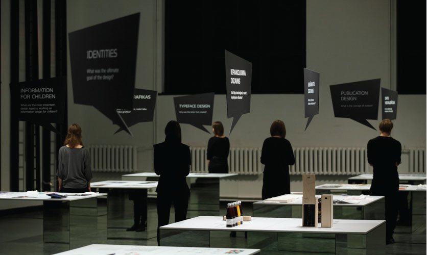 Information is an exhibition designed by Design Studio H2E that won an Honor Award and Best in Show 2016.