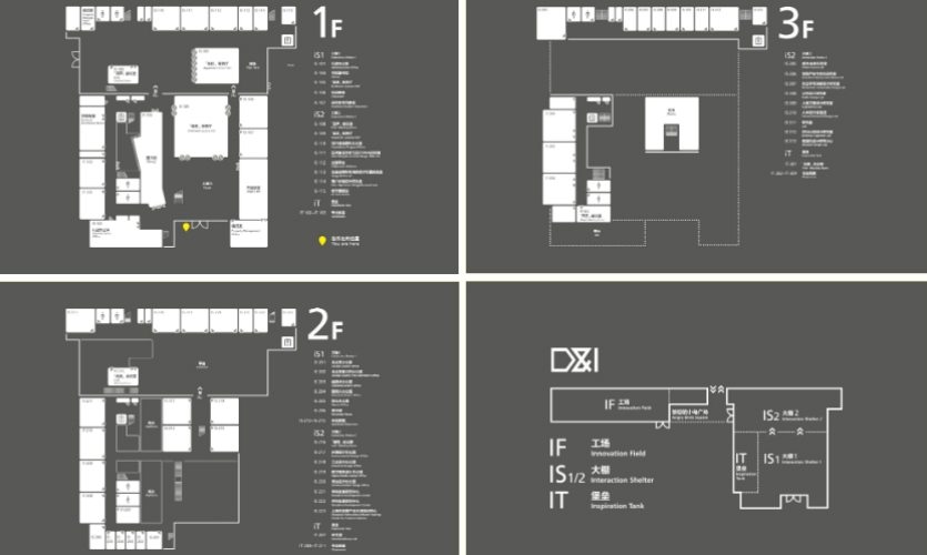 Fig. 5. Maps of complex educational buildings