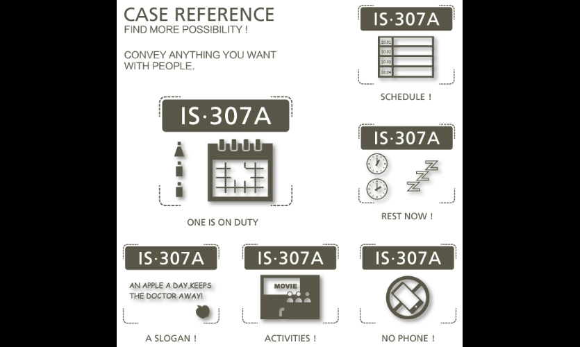 Fig. 7. Designers give cases as reference.