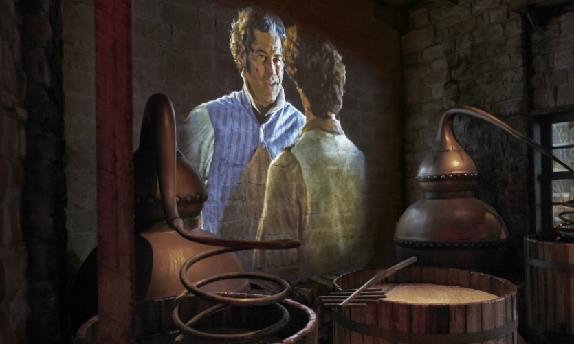 State-of-the-art projection technology and immersive storytelling enliven the tour.