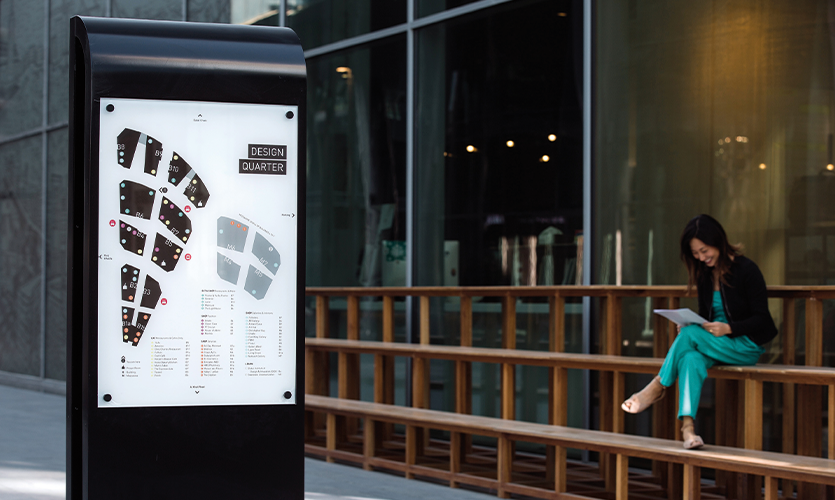 Dubai Design District (Endpoint Wayfinding)