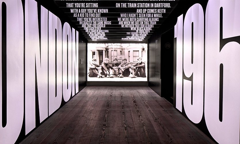 2. You've told a compelling story, big or small. (Exhibitionism—The Rolling Stones Exhibition)