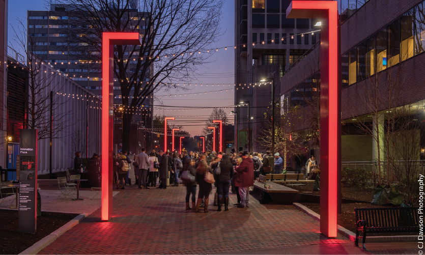 Innovation Plaza by Exit Design (Philadelphia, PA)