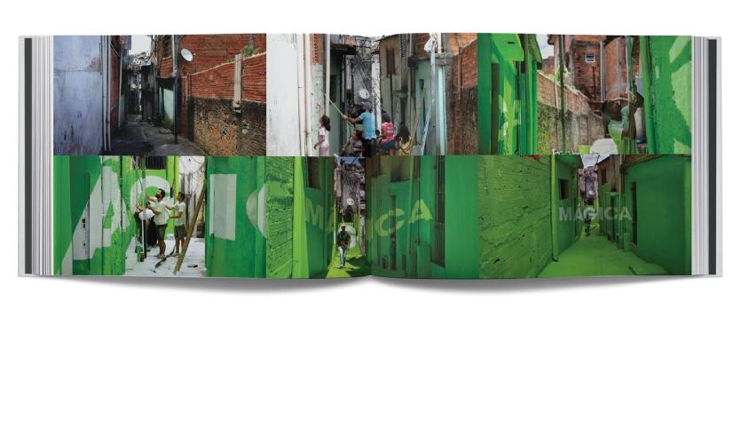 "Chapter 5: Vernacular, ""Luz Nas Vielas"" by Boa Mistura are anamorphic murals in São Paulo, Brazil."