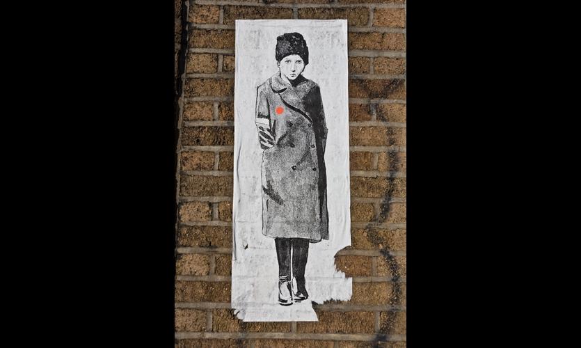Contemporary graffiti is often highly illustrative, a la Banksy. (Photos: Wyatt Gallery)