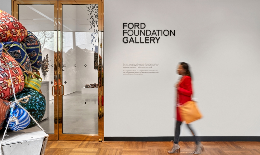 The Foundation saw the renovation as an opportunity to create much more than a headquarters for itself, adding a public art gallery.