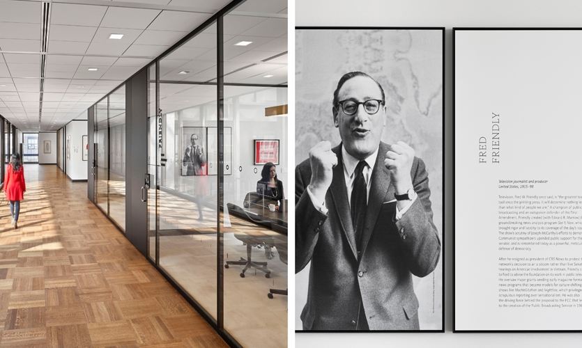 Each meeting room is dedicated to a distinguished visionary whose work reflects the Foundation's long-standing mission and history.