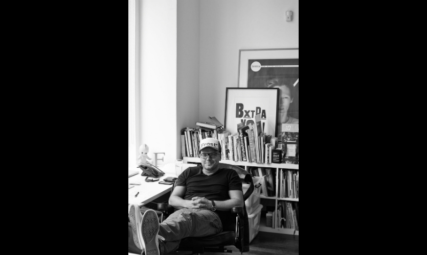 Vince Frost in the Sydney offices of Frost* collective
