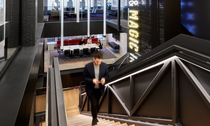 After over 20 years at Rockefeller Center, Gensler New York traded in skates for the bright lights of Broadway and a new office space.