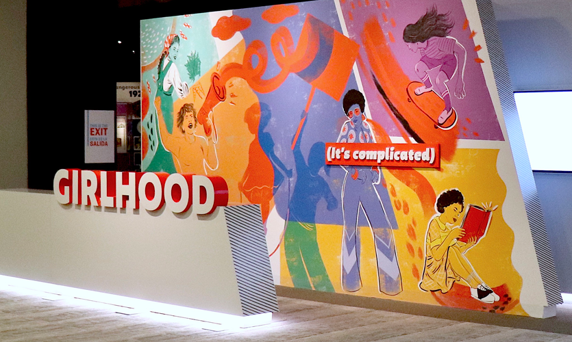 Image of the Girlhood (It's Complicated) exhibit