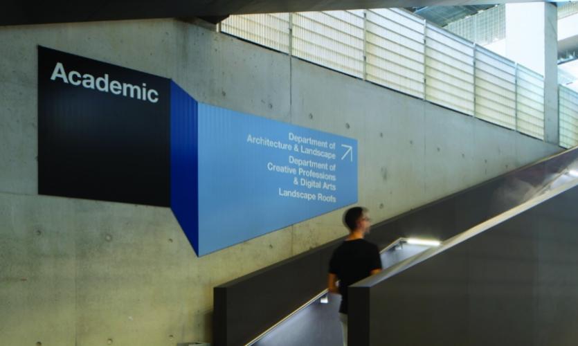 University Of Greenwich Wayfinding Segd