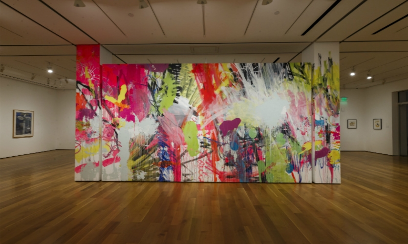 HENSE was selected to create a site-specific Installation at the High Museum of Art, Atlanta in 2013. (Photo: Steve Cole)