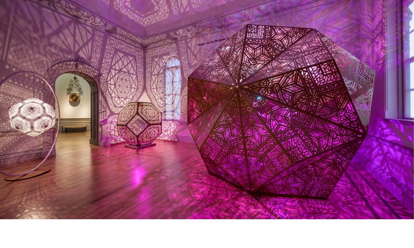 """No Spectators"" at the Renwick (""HYBYCOZO, Deep Thought"" photo by Ron Blunt)"