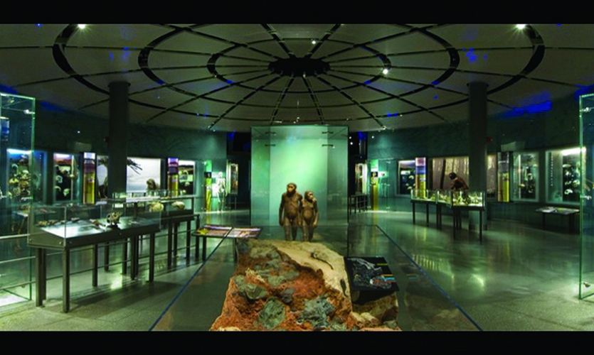 Concepts will change, but as early impressions they intuitively inform the final outcome (shown: AMNH's Spitzer Hall of Human Origins).