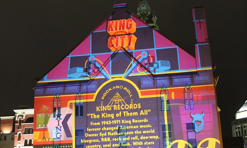 """""""King City"""" on St. Xavier Church by We Have Become Vikings"""