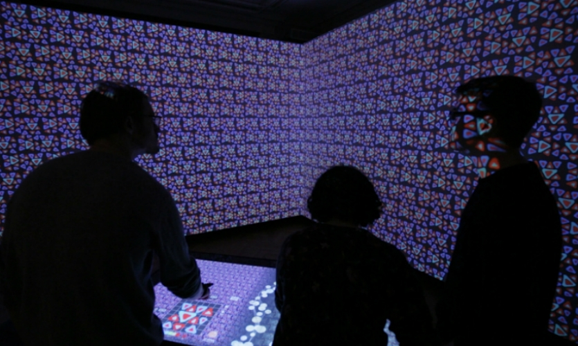 You'll definitely want to get to the newly renovated Cooper Hewitt, Smithsonian Design Museum. Interactives designed by Local Projects completely change the museum experience. (Image: Local Projects)