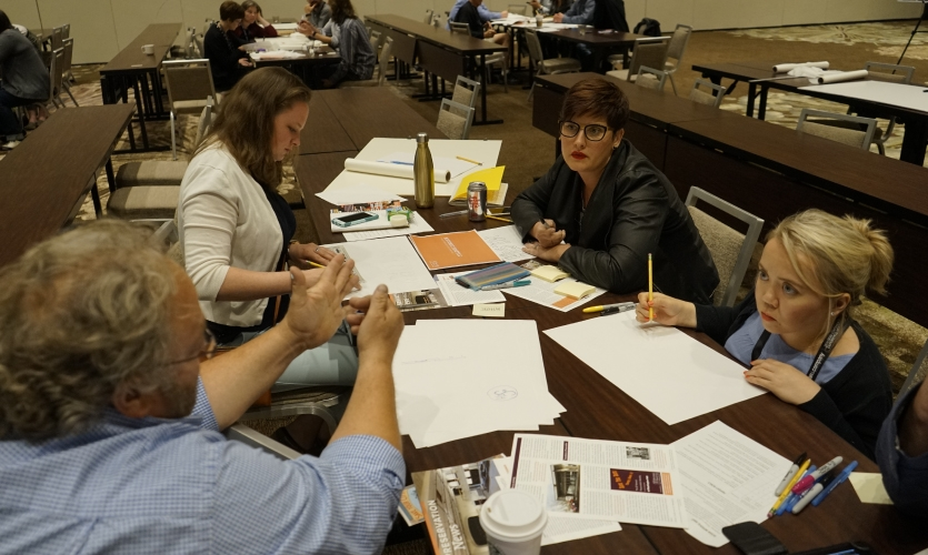 With a goal to improve the local community through design, the Design Improv(e) groups got to work