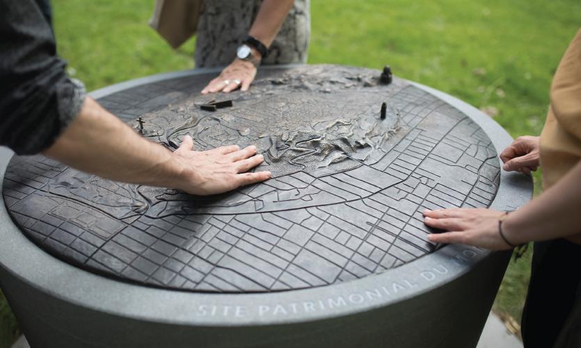 Escales découvertes (Discovery Halts) by Julie Margot Design (Montréal)